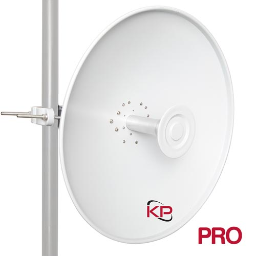 4 9 GHz to 6 4 GHz, 2-Foot Parabolic Dish Antenna with N-Type